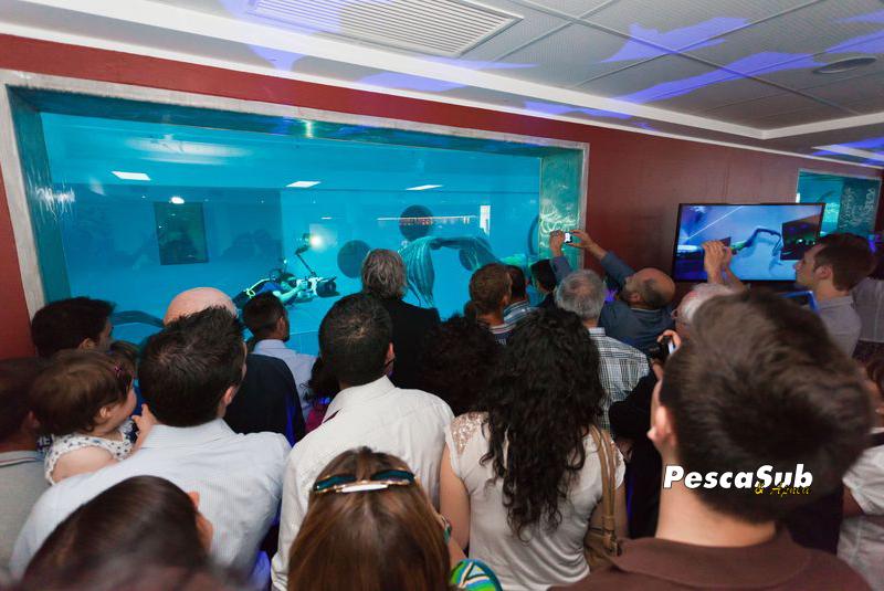 La piscina pi profonda del mondo pesca sub for Piscina y 40 padova