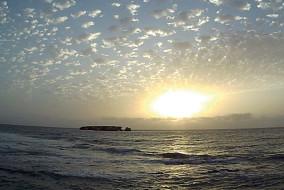 Albeggio isola di Curral Velho 4gg (2 foto)